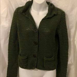 Ladies Ann Taylor Knit Blazer/Jacket